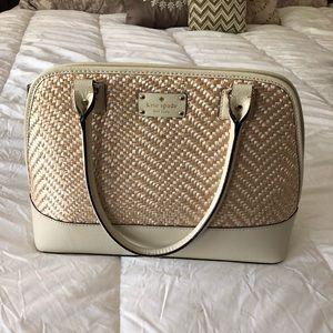 Kate Spade Straw Handbag